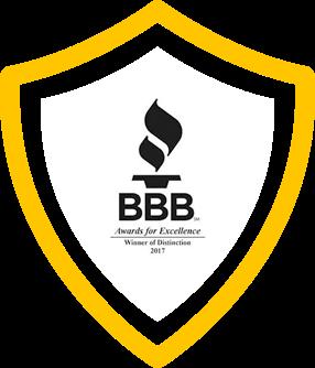 BBB Awards for Excellence, Winner of Distinction 2017