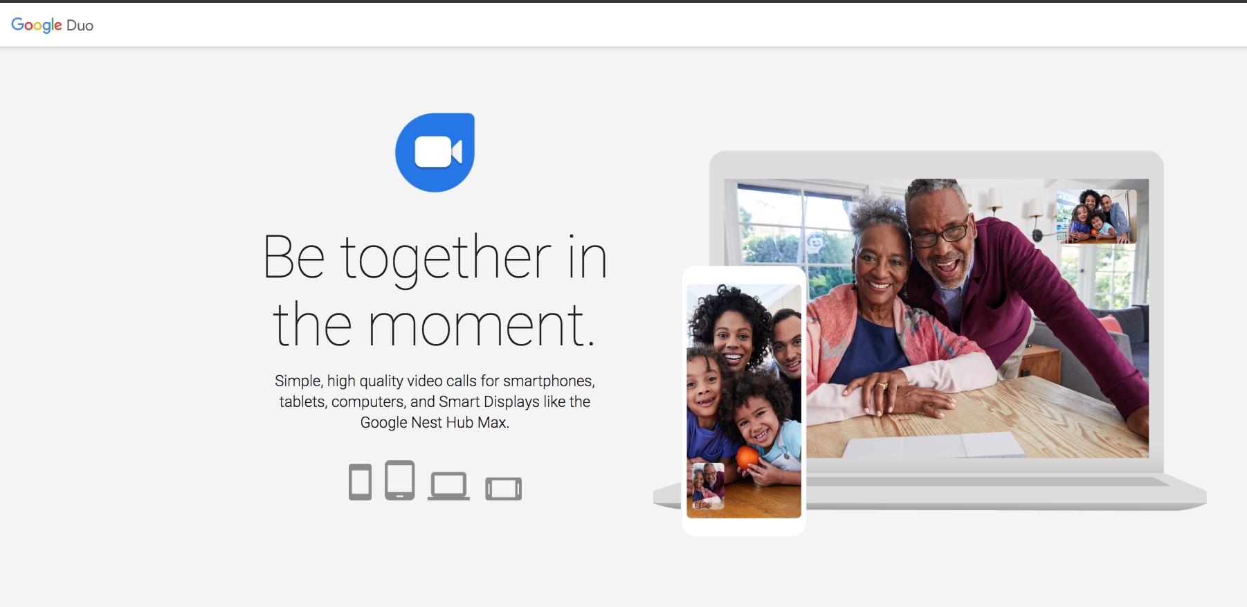Google Duo - Customer Service engagement