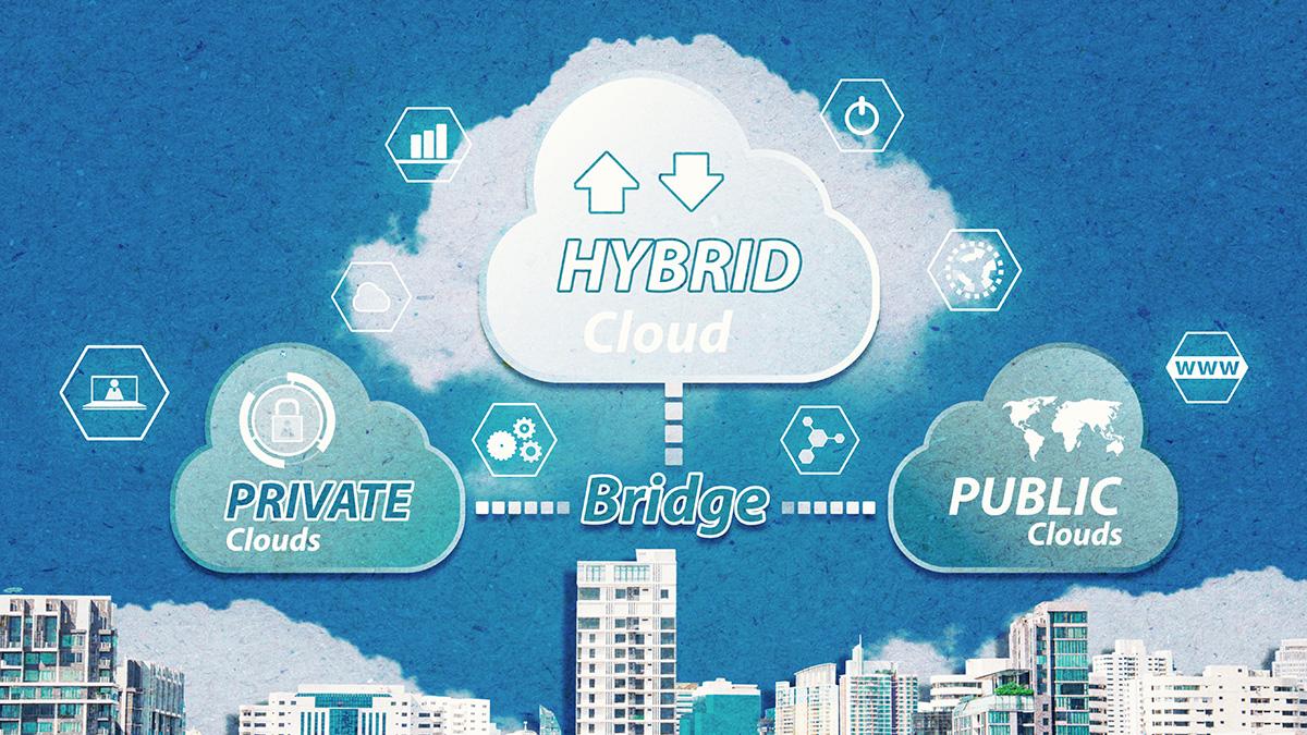Hybrid-Cloud Model